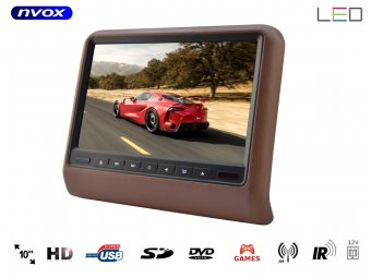 NVOX DV1017N HD BROWN