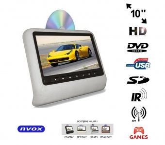 NVOX DV1017N HD GREY