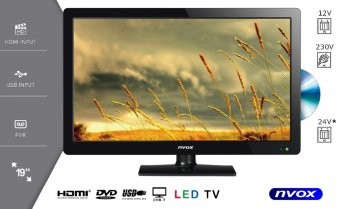NVOX 19C510D TV DVBT USB DVD 18.5""