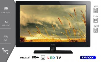 NVOX 22C510FH TV DVBT USB 21.5""